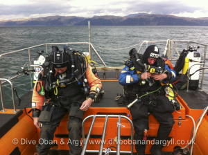 Rebreather, RIB, Diving, Oban