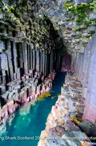 Fingals Cave, Staffa, Dive, Snorkel, Swim