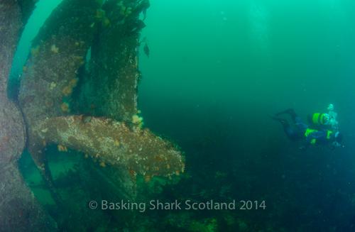 SS Meldon, Meldon, wreck, Loch Buie, Mull, Scotland